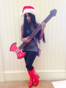 I was Marceline from Adventure Time.
